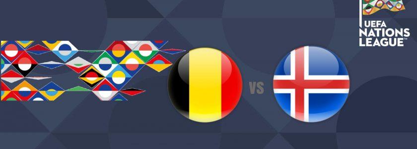 Belgium vs Iceland UEFA Nations League