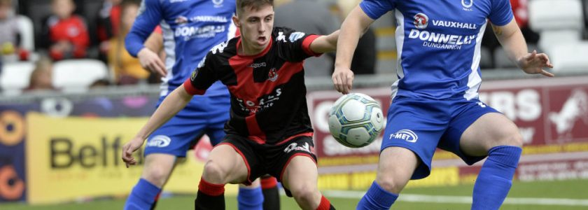 Dungannon Swifts vs Linfield FC