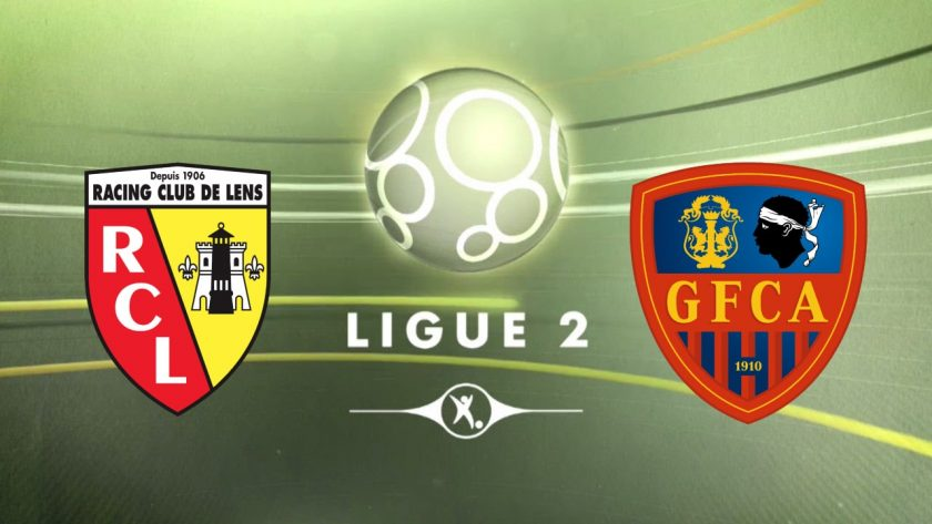GFC Ajaccio vs Lens