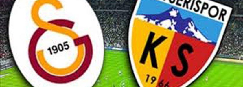 Galatasaray vs Kayserispor